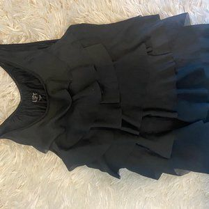 Black Ann Taylor Loft Top